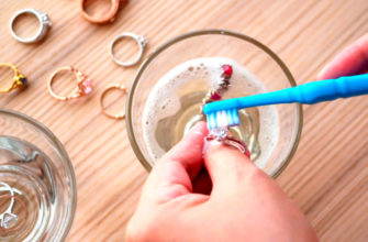 Как почистить серебряное кольцо