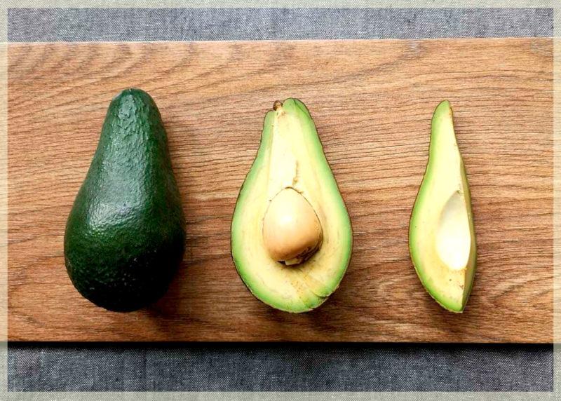 определяем спелость авокадо