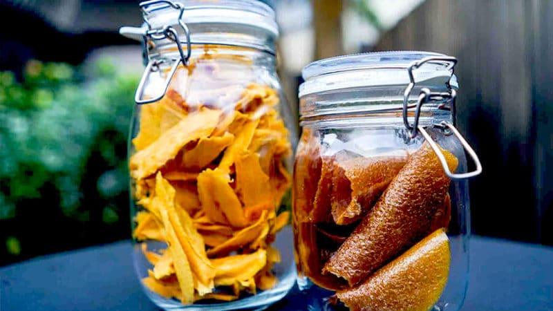 сушеное или вяленое манго